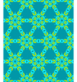 Geometric abstract colorful mosaic green blue vector
