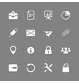Icon set for web and mobile vector