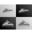 Mountain logo symbol icon isolated vector