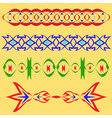 Sample of ornaments vector