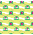 Seamless easter egg pattern vector