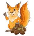 Squirrel nuts vector