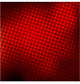 Abstract red halftone background stock vector