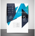 Business corporate flyer template vector