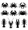 Crabs vector