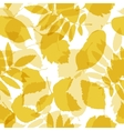 Autumn leaves seamless pattern for your design vector