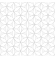 White and gray floral seamless pattern vector