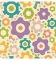 Gogwheals and gears seamless pattern background vector