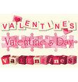 Valentine love games vector