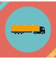 Icon trucks with tanks - vector