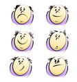 Cartoon emotions vector