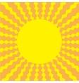 Sunburst with rhombus ray of light template blue vector