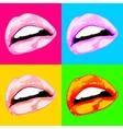 Lips sex pink icon women vector