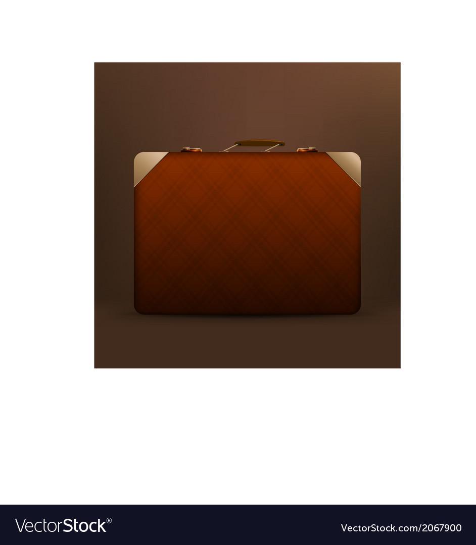 Suitcase vector | Price: 1 Credit (USD $1)