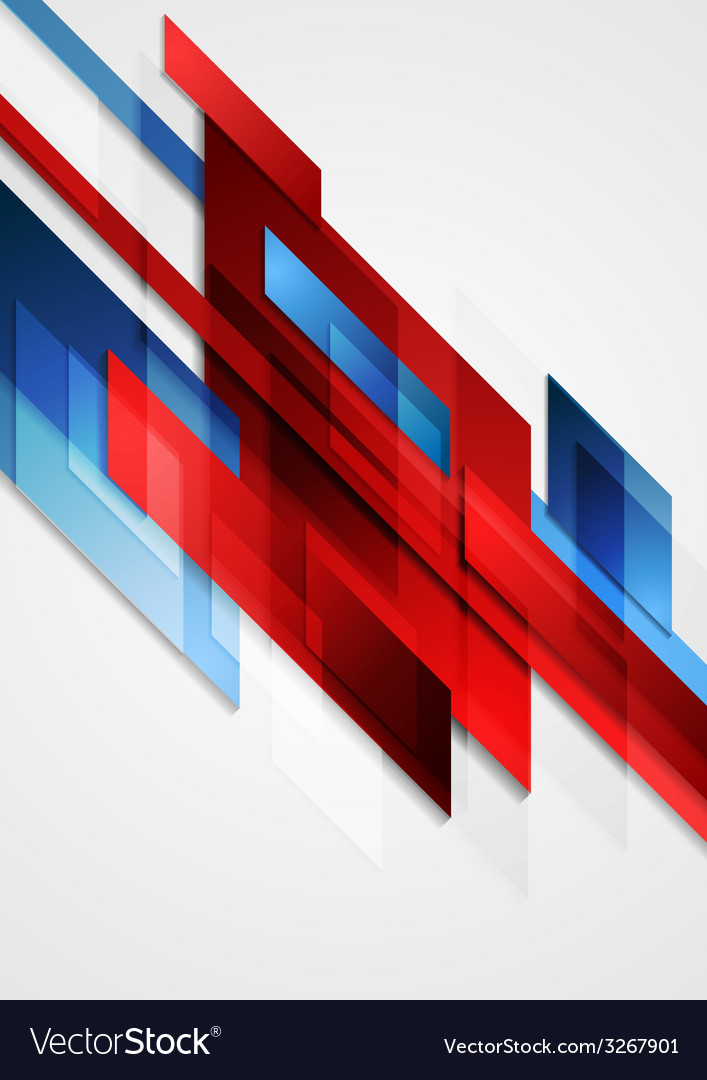 Blue and red hi-tech motion design vector | Price: 1 Credit (USD $1)