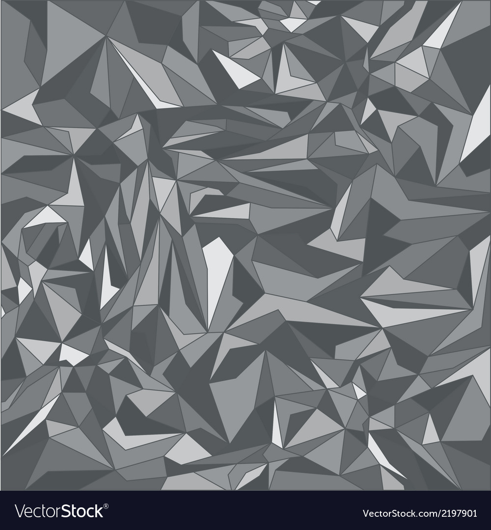 Grey triangle background vector | Price: 1 Credit (USD $1)