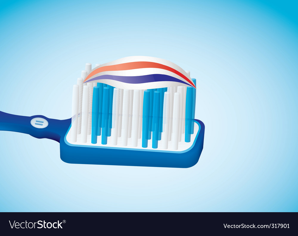 Toothbrush vector | Price: 3 Credit (USD $3)