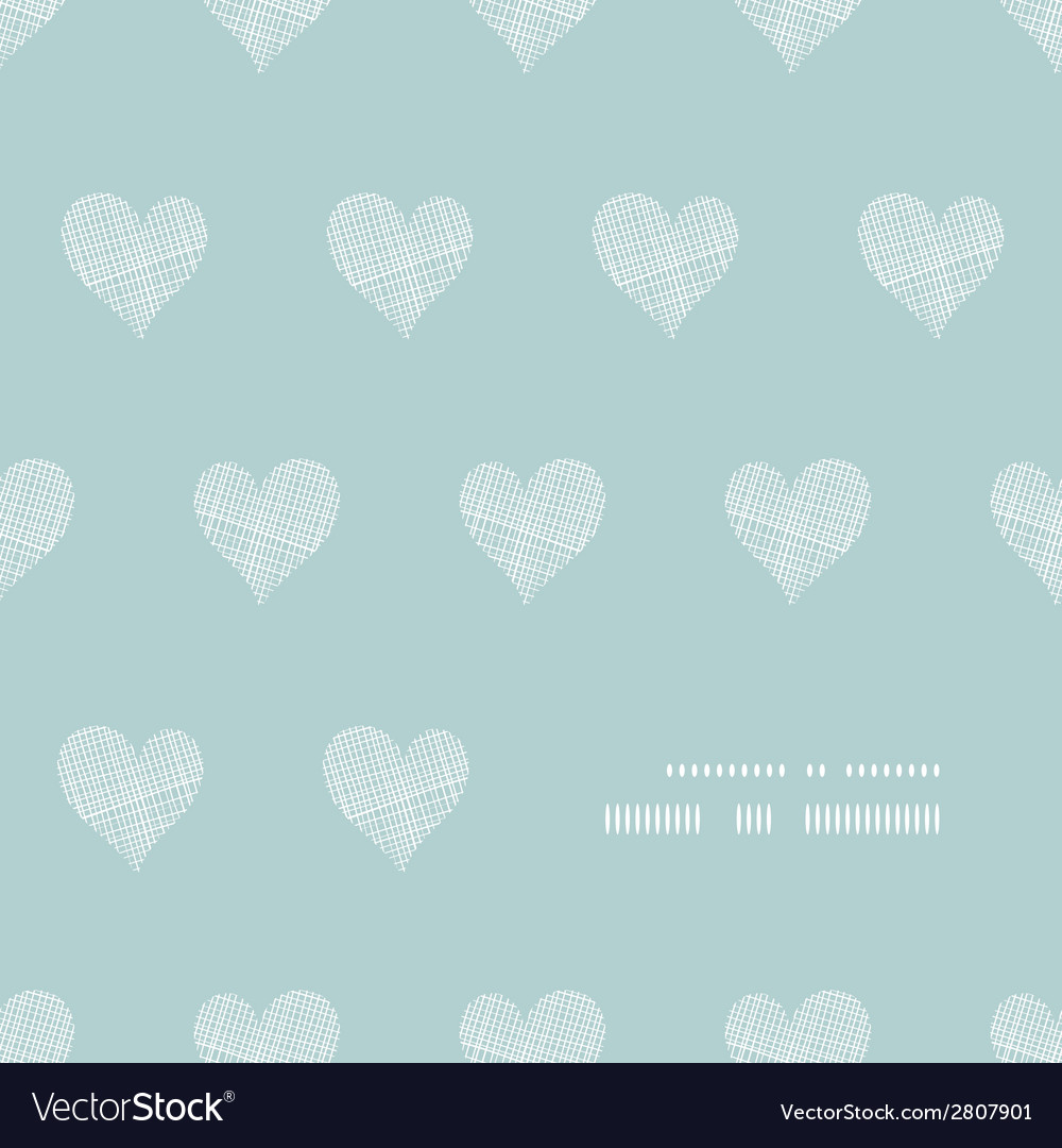 White lace hearts textile texture frame corner vector | Price: 1 Credit (USD $1)