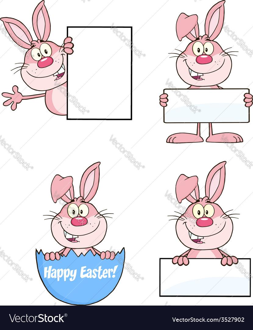 Bunny cartoon design vector | Price: 1 Credit (USD $1)