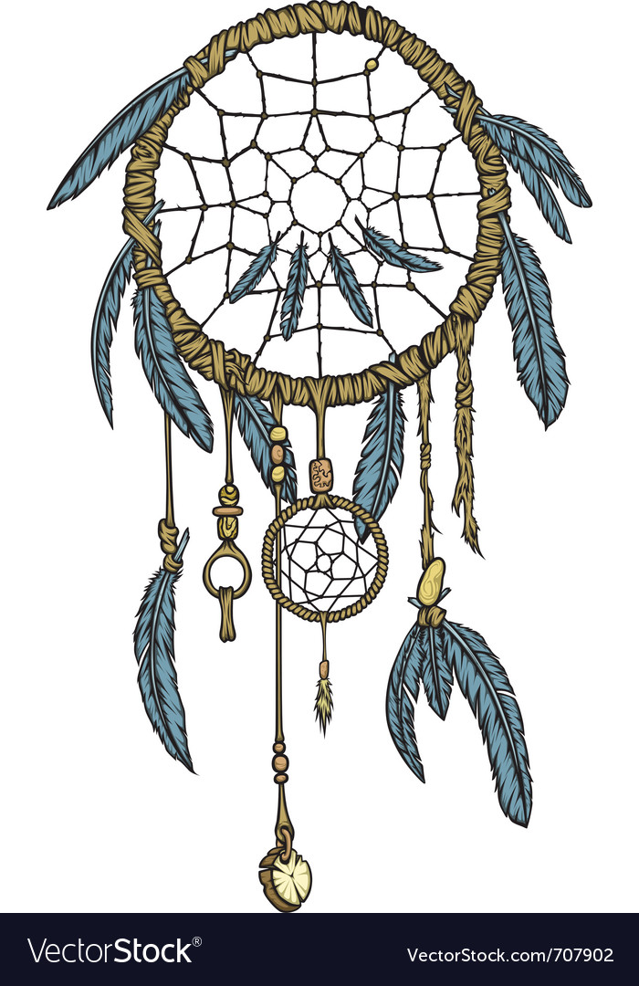 Dream catcher vector | Price: 3 Credit (USD $3)