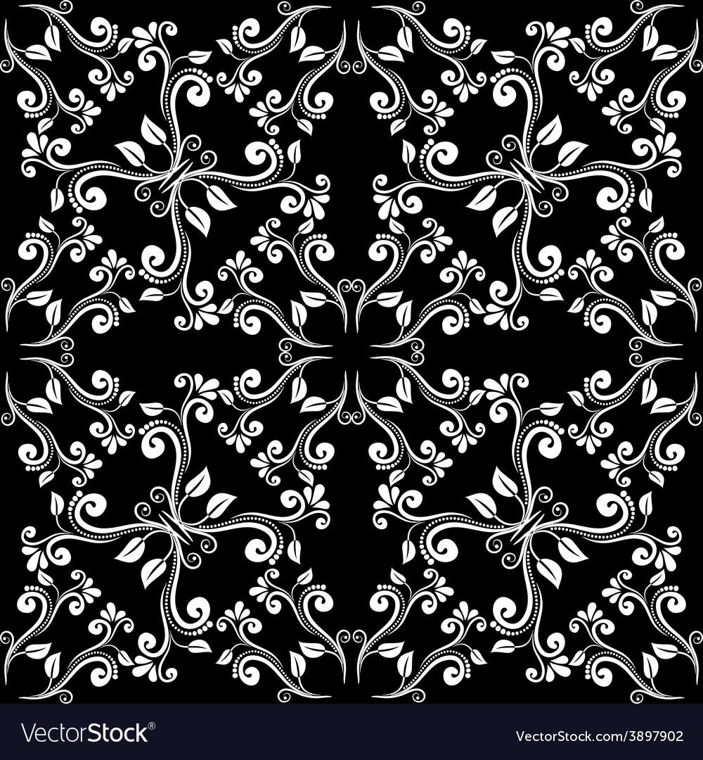 Seamless vintage pattern vector   Price: 1 Credit (USD $1)