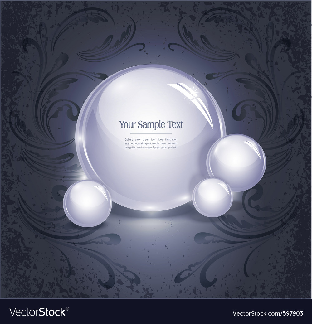 Glowing orb vector | Price: 3 Credit (USD $3)