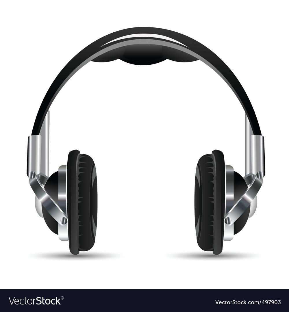 Headphone vector | Price: 3 Credit (USD $3)