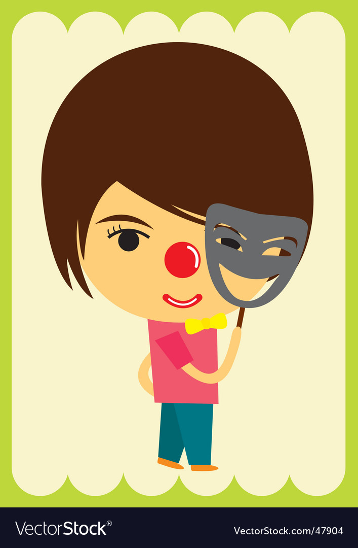 Clown character vector | Price: 1 Credit (USD $1)