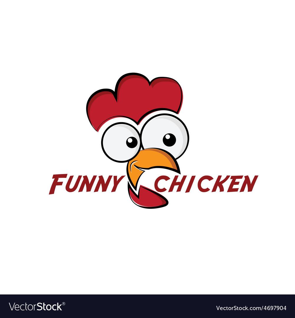 Funny chicken vector | Price: 1 Credit (USD $1)