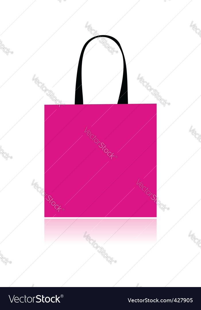 Shopping bag design vector | Price: 1 Credit (USD $1)