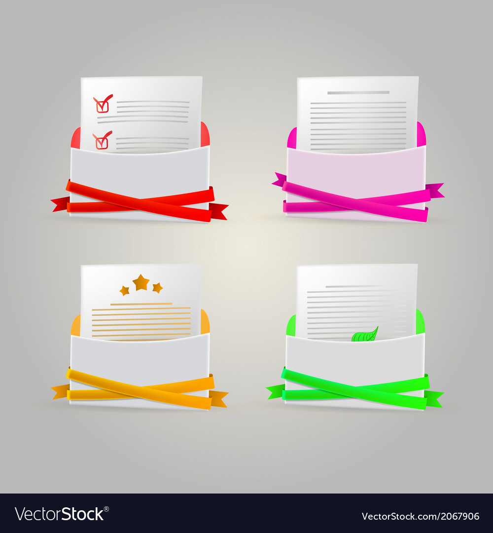 Envelopes vector | Price: 1 Credit (USD $1)