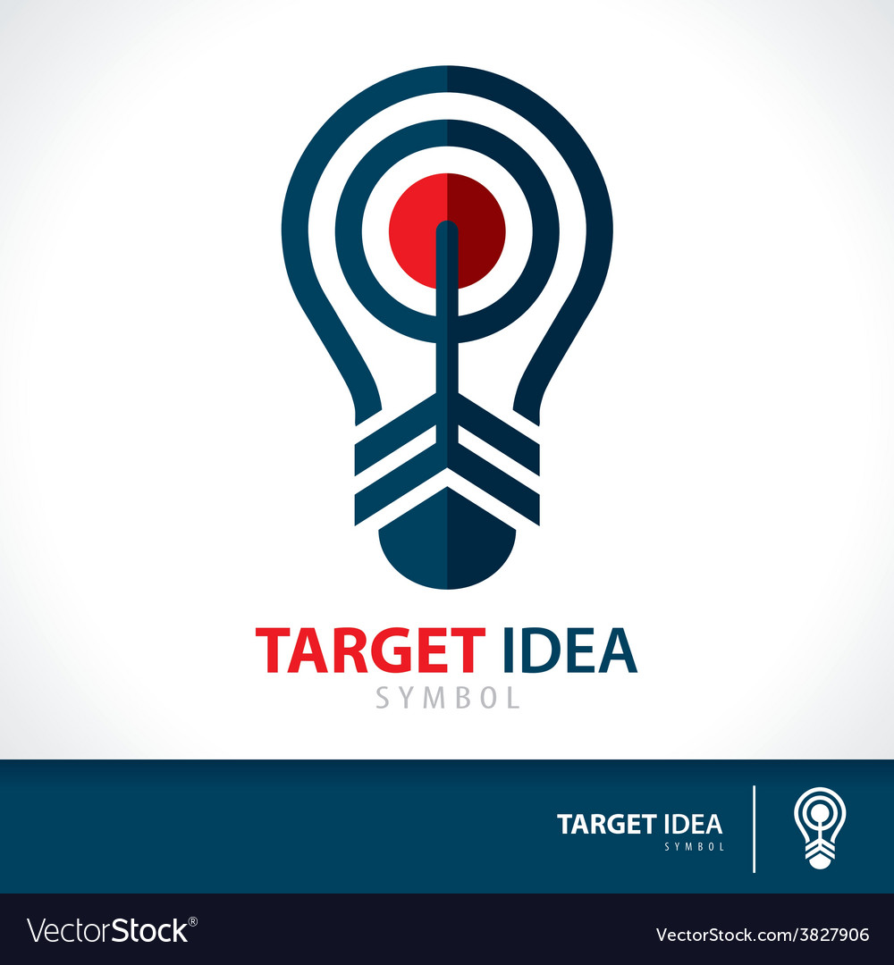 Target idea vector | Price: 1 Credit (USD $1)