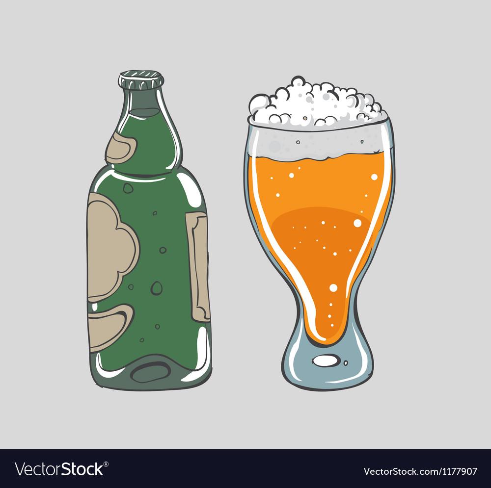 Beer - vector | Price: 1 Credit (USD $1)