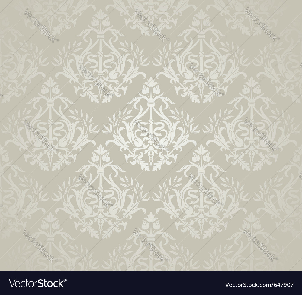Flower seamless pattern vector | Price: 1 Credit (USD $1)