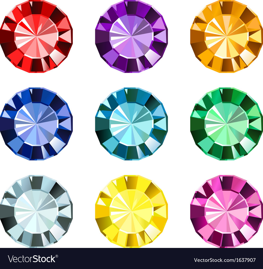 Gems vector | Price: 1 Credit (USD $1)