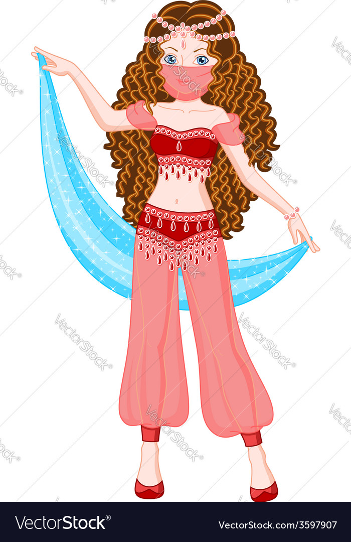 Princess scheherazade vector | Price: 3 Credit (USD $3)