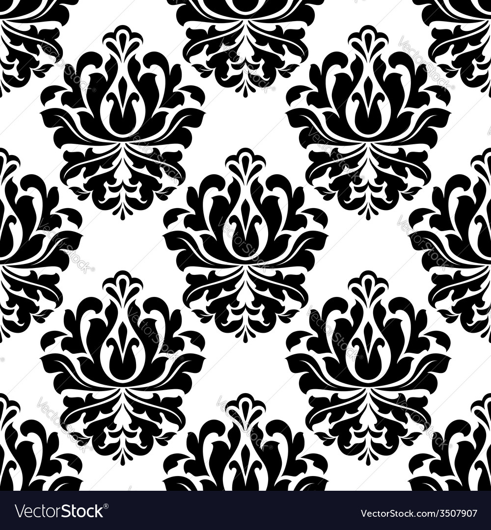 Symmetrical floral endlessly tracery vector | Price: 1 Credit (USD $1)