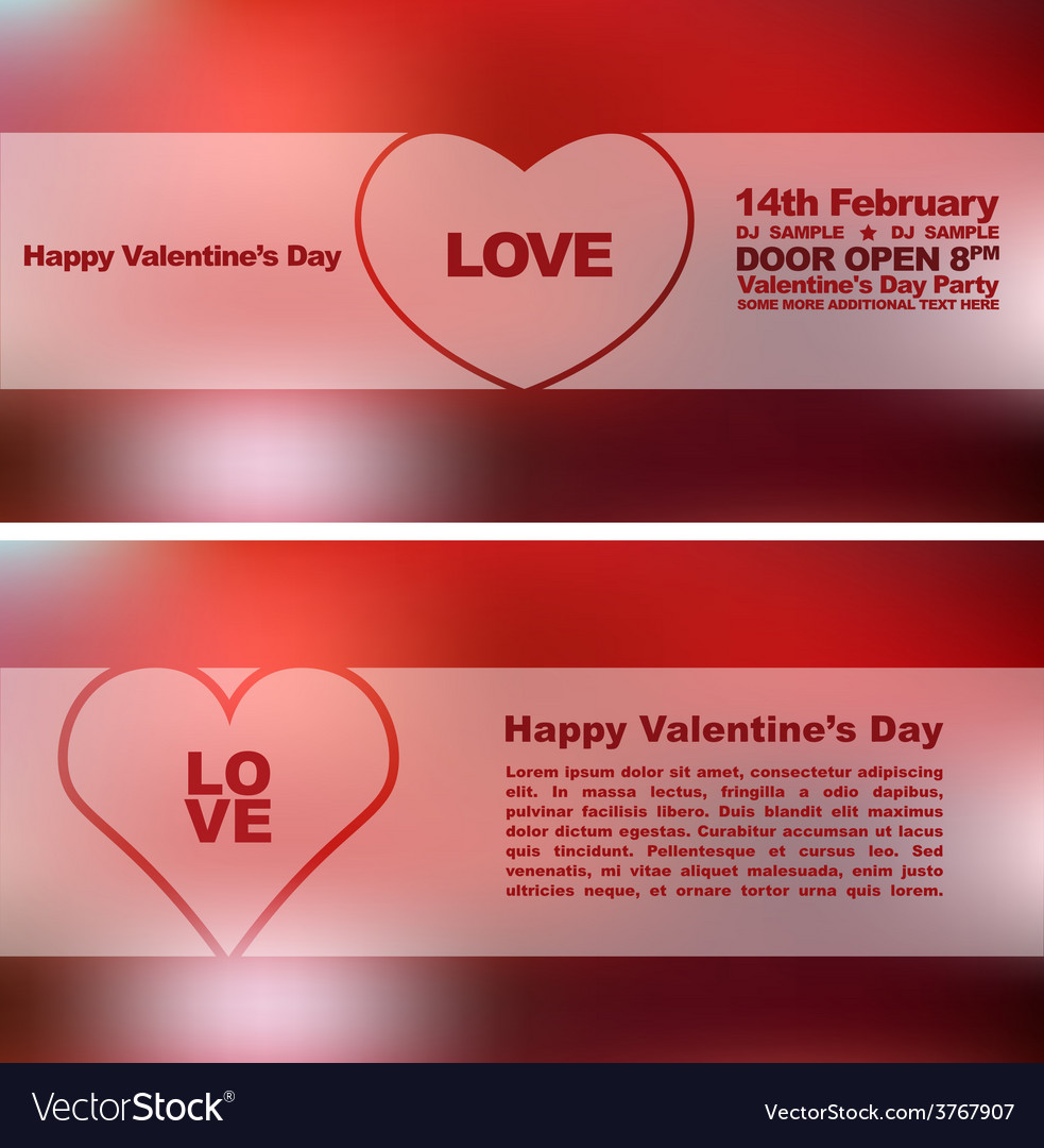 Valentines day heards cards 6 vector | Price: 1 Credit (USD $1)