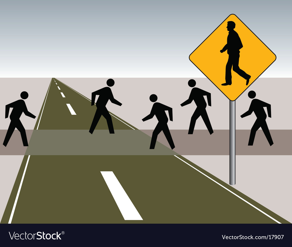 Walking-backward vector | Price: 1 Credit (USD $1)