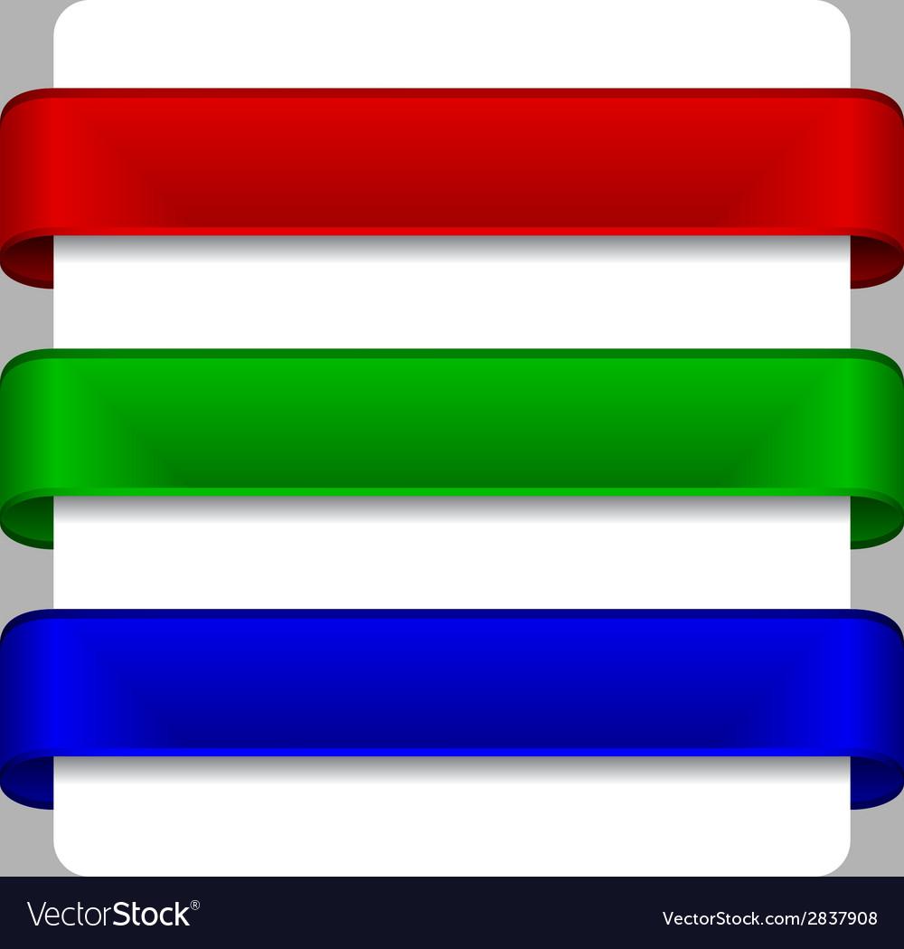 Satin ribbons vector   Price: 1 Credit (USD $1)