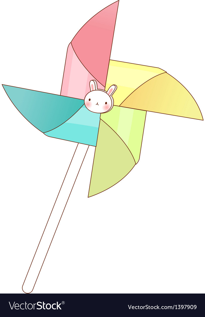 A view of pinwheel vector | Price: 1 Credit (USD $1)
