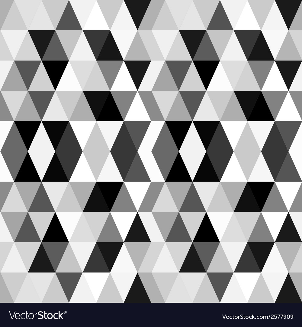 Black and white abstract geometry pattern vector | Price: 1 Credit (USD $1)