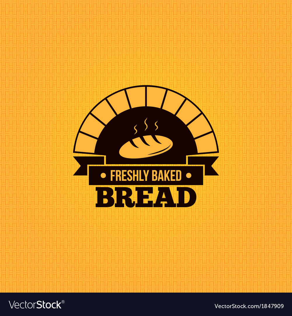 Bread vintage design menu background vector | Price: 1 Credit (USD $1)