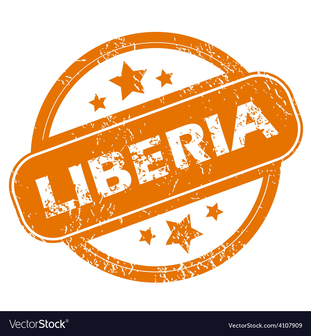 Liberia grunge icon vector | Price: 1 Credit (USD $1)