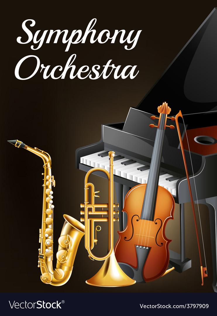 Symphony ochestra design vector | Price: 3 Credit (USD $3)