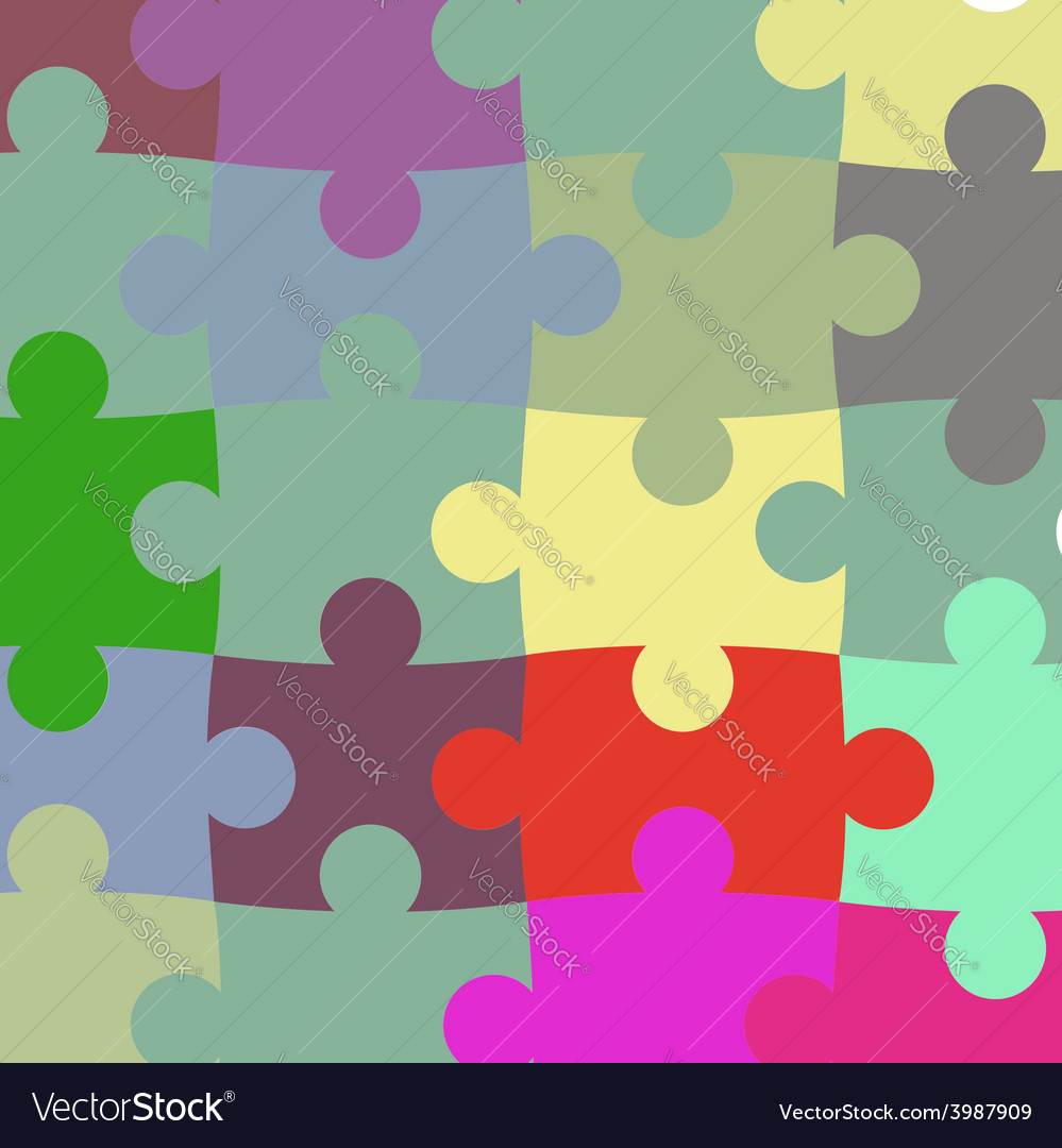 Texture of the puzzle vector | Price: 1 Credit (USD $1)