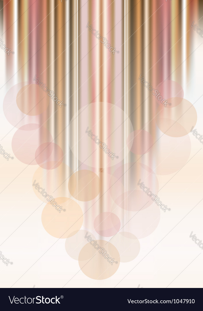 Circles on colored striped background vector | Price: 1 Credit (USD $1)