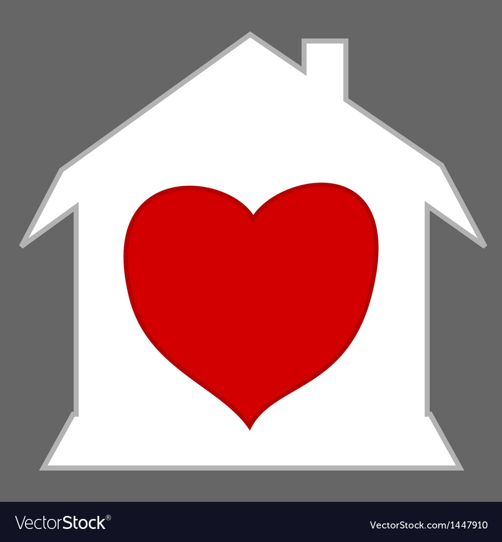 Loving home vector | Price: 1 Credit (USD $1)