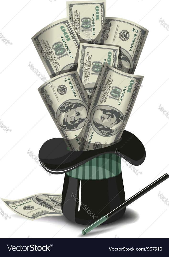 Magicians hat vector | Price: 3 Credit (USD $3)