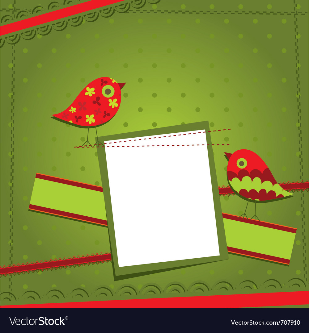Template birthday greeting card vector   Price: 1 Credit (USD $1)